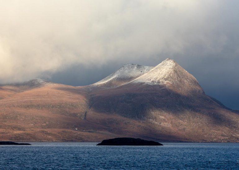 Entering loch Broom in the direction of Ullapool, Wester Ross