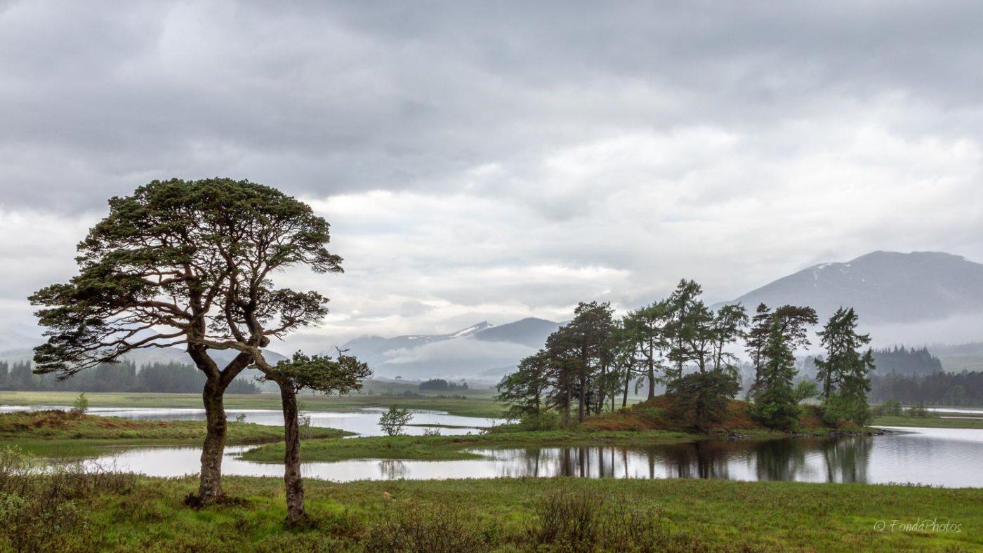 Loch Tulla, close to Glencoe, Scotland
