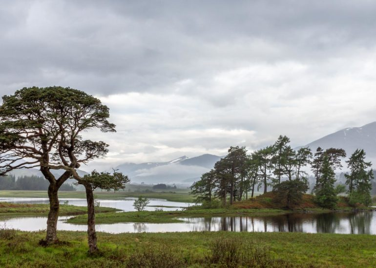 Loch Tulla, close to Glencoe, Scotland
