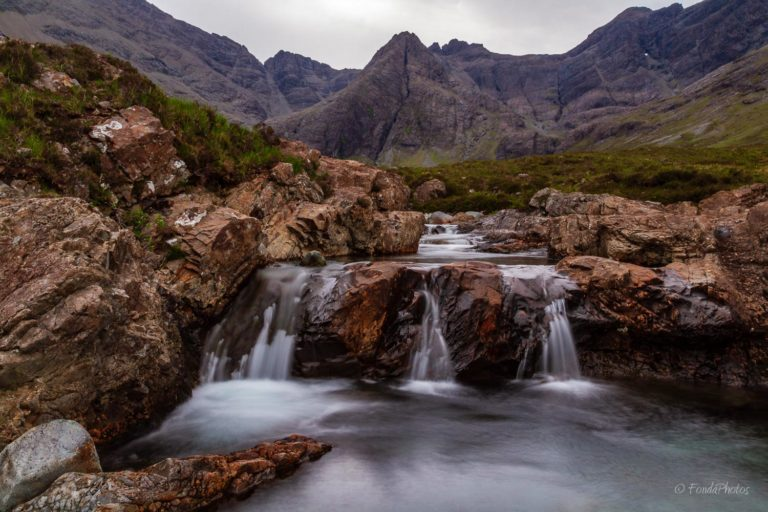 Fairy Pools at Glen Brittle, Skye