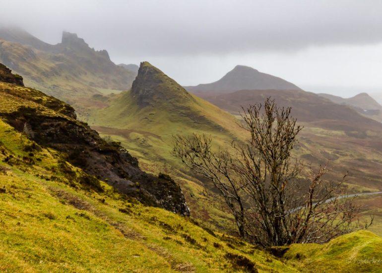 Quiraing, Skye, Scotland