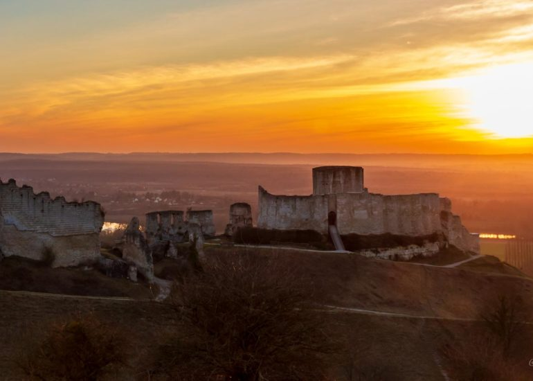 Chateau Gaillard, Les Andelys, Normandy