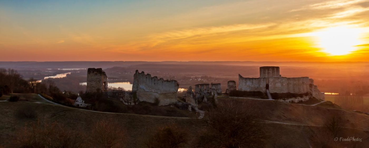 Les Andelys and Chateau Gaillard