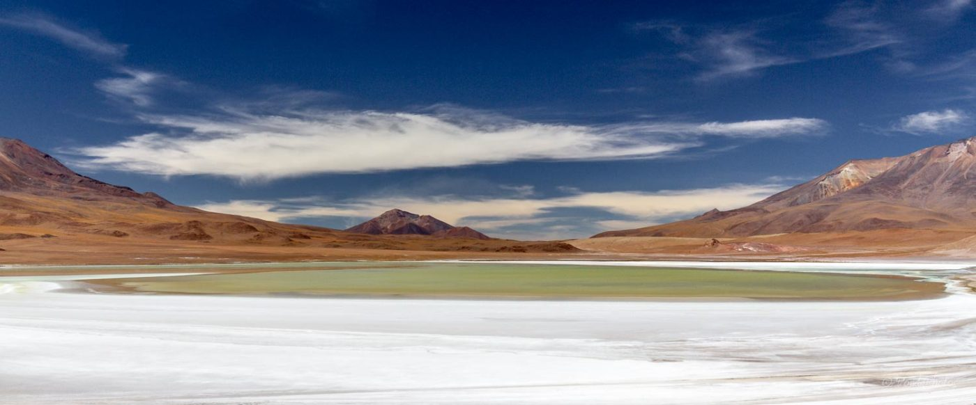 Laguna Charcota, Ruta de las Joyas, Bolivia