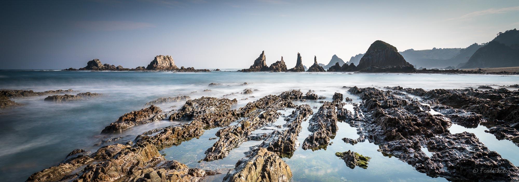 Playa de la Gueirúa, Asturias