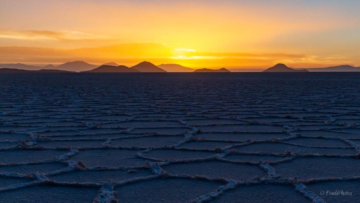 Sunset, Salar de Uyuni, Bolivia