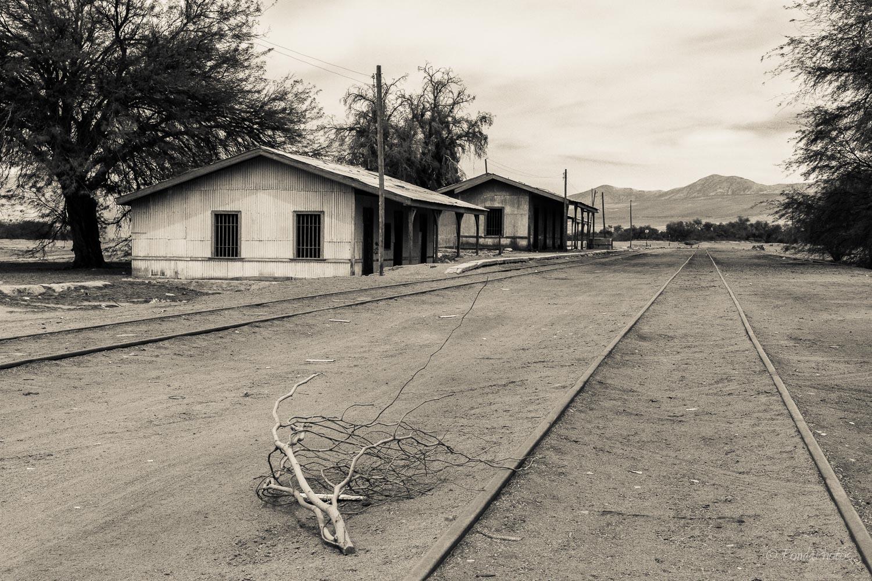 Abandonned railroad, Quillagua