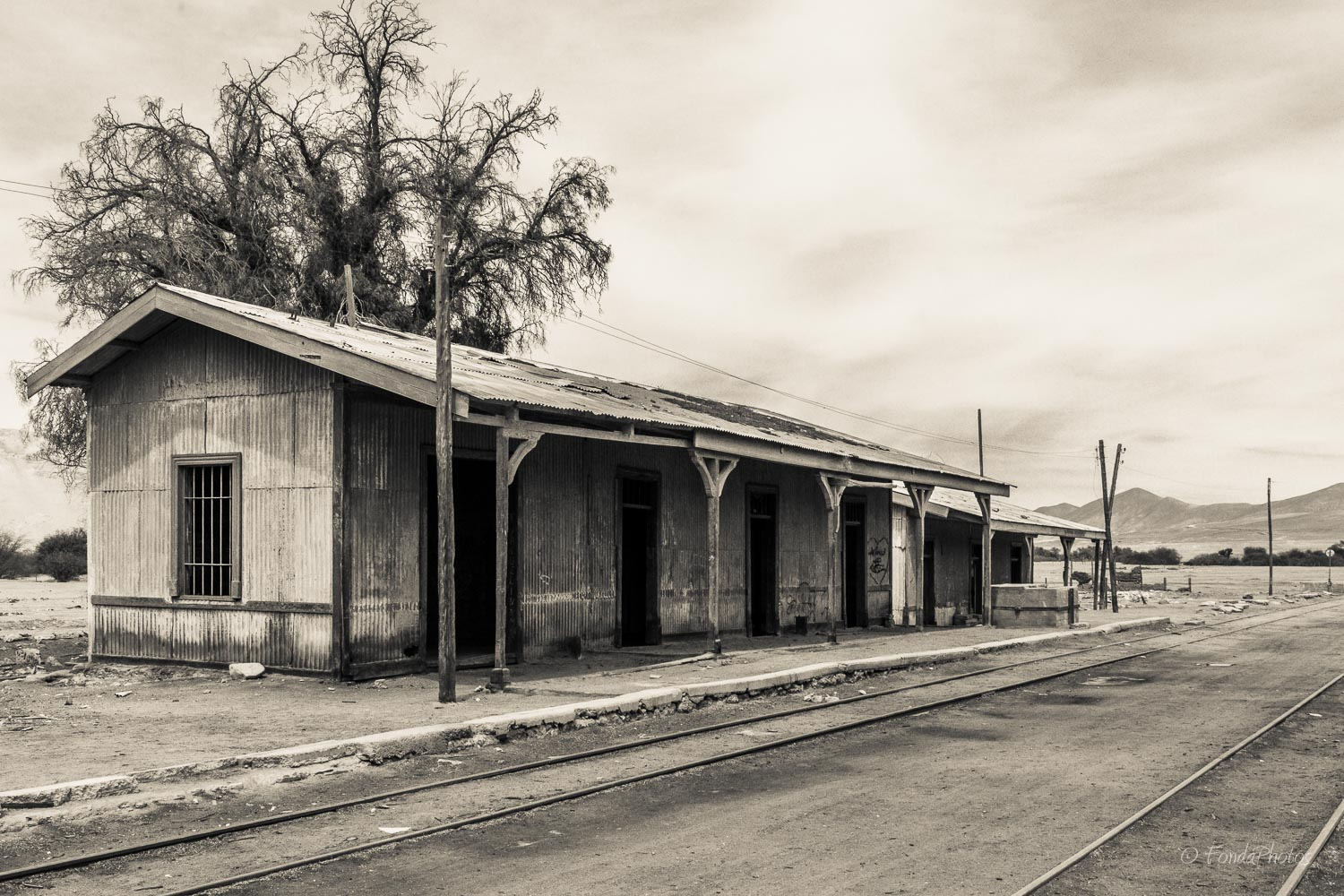 Abandonned train station, Quillagua