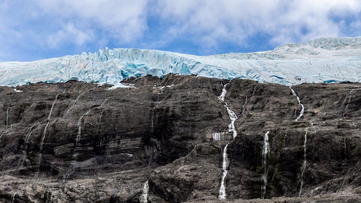 Glacier, canal Gabriel