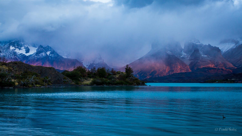 Lago Pehoé, Torres del Paine