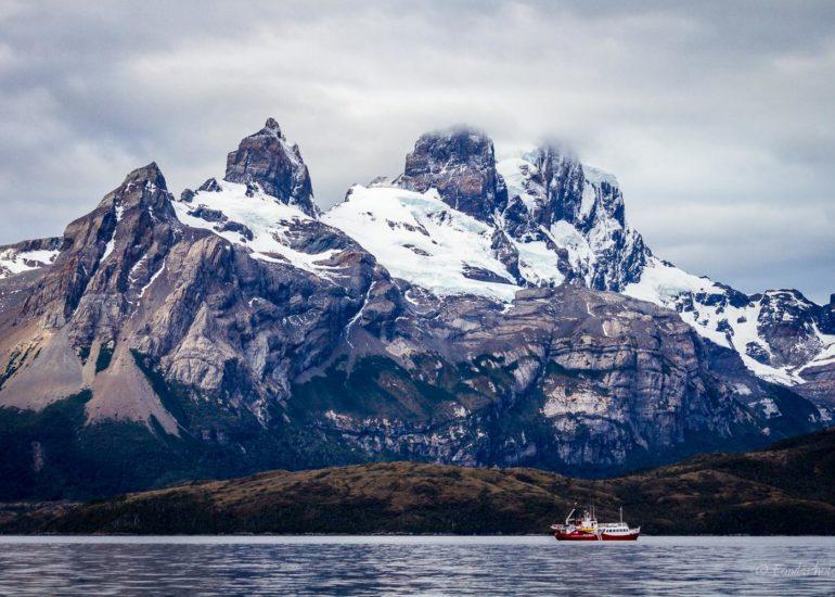 Seno de Agostini, Mount Buckland, Strait of Magellan