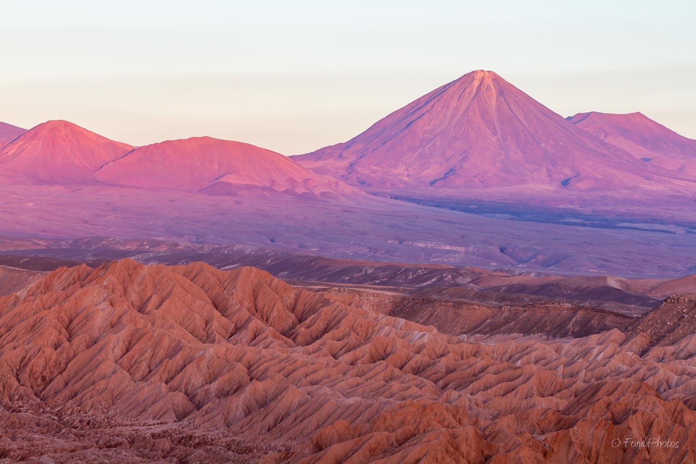 Licancabur volcano from San Pedro de Atacama
