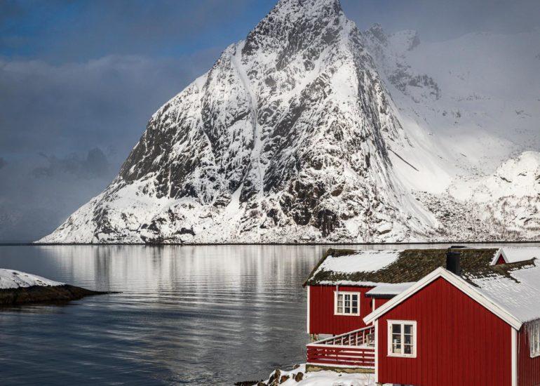 Red rorbu, Hamnoy, Lofoten