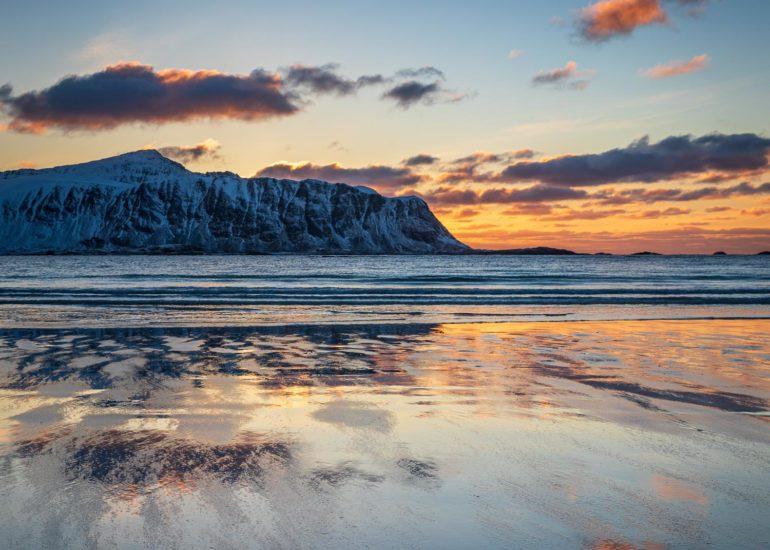 Ramberg beach, Lofoten
