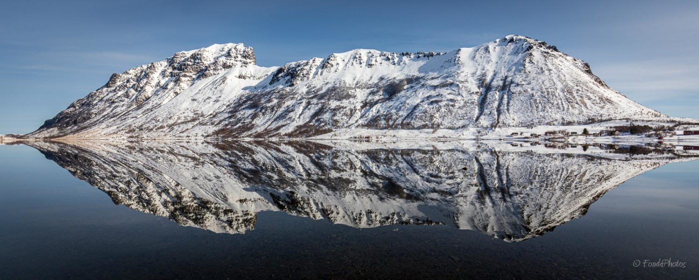 Perfect reflection, Lofoten