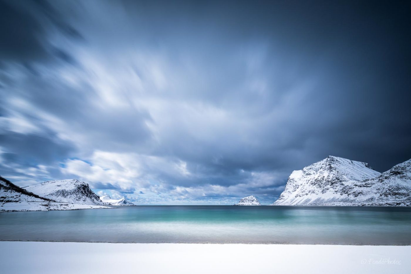 Vikbukta beach, Lofoten
