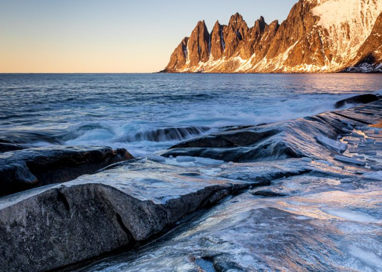 Devil's Teeth from Ersfjord, Senja